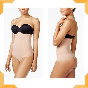 Leonisa Intimates & Sleepwear - Light Tummy-Control High-Waist Brief With Thong